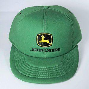 John Deere Baseball Cap Hat Classic Green Snapback
